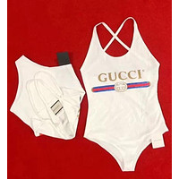 GUCCI Fashion Women Swimmer Bikini Set Swimsuits Bathing Suits