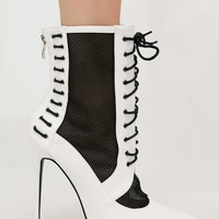 Eshal Lace Up Ankle Boots