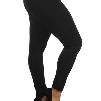 Fleece Lined Leggings (plus)