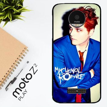 My Chemical Romance Gerard Z0266 Motorola Moto Z2 Play Case