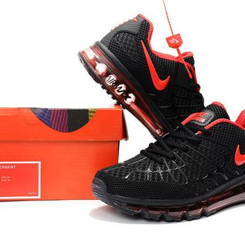 Nike Air Max Emergent 120 Black/Red Running Shoe 40-47