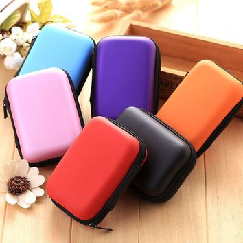 Ourpgone Outdoor Tools Outdoor Bags EVA Hard Carrying Case Bag Storage Box Coin Purse for USB cables Earphone MP3+Free shipping!