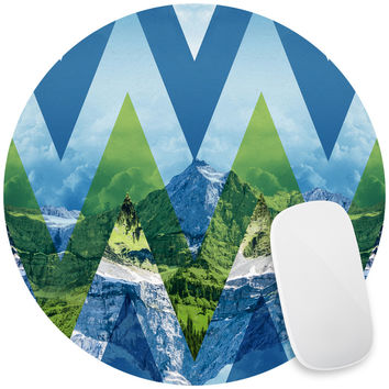 Chevron Mountains Majesty Mouse Pad Decal