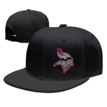 Minnesota Vikings Breast Cancer Awareness Team Travel Performance Cotton Unisex Adult Womens Hip-hop Hat Mens Hip-hop Caps