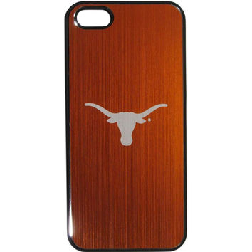 Texas Longhorns iPhone 5/5S Etched Snap on Case C5GE22