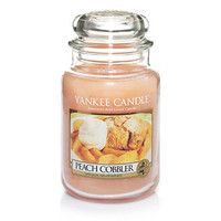 Peach Cobbler : Large Jar Candles : Yankee Candle