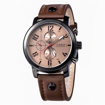 Trendy Stylish Designer's Great Deal Awesome Gift New Arrival Good Price Quartz Men Watch [6542555203]