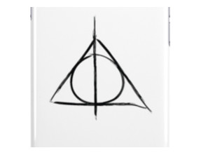 Deathly Hallows iphone case iPhone Cases & Skins