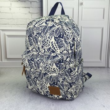 Canvas Lightweight Backpack Travel Bag