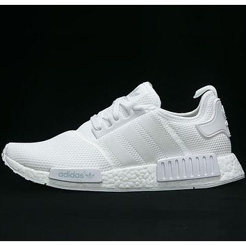 ADIDAS NMD Popular Unisex Personality Running Sport Shoes Sneakers White I