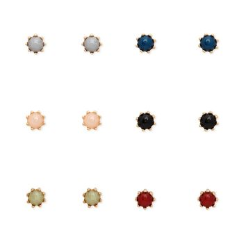 Faux Stone Stud Earring Set - Jewelry - 1000199147 - Forever 21 Canada English