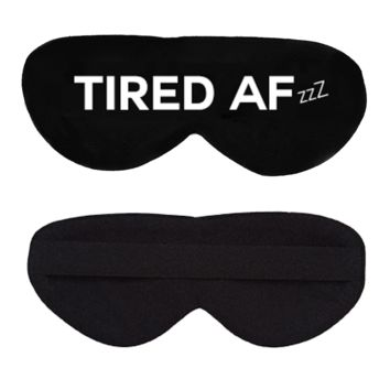 Tired AF Cotton Lux Sleep Mask