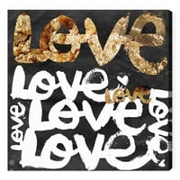 Oliver Gal 'Four Letter World' Wall Art