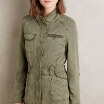 Marrakech Expeditionist Anorak in Moss Size: