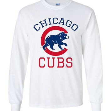 Chicago cubs World series Gildan Long Sleeve T-Shirt