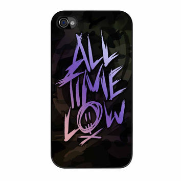 All Time Low Logo Colorfull iPhone 4 Case