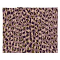 "Vasare Nar ""Leo Cheetah"" Animal Pattern Fleece Throw Blanket"