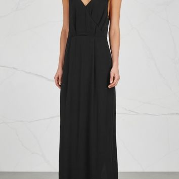 Samsøe & Samsøe Ginni low-back chiffon maxi dress