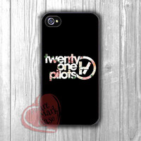 Twenty One Pilots Vintage Floral -edd for iPhone 4/4S/5/5S/5C/6/ 6+,samsung S3/S4/S5,samsung note 3/4