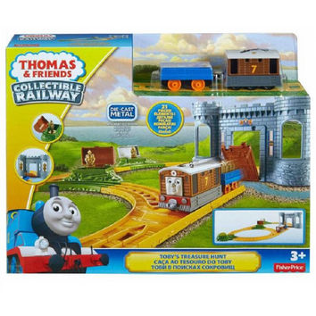 thomas & friends collectible railway tobys treasure hunt