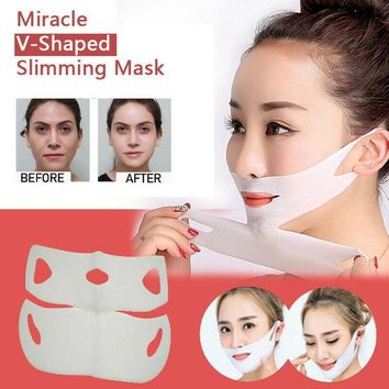 [BIG SALE] Miracle V-Shaped Slimming Facial Mask Thin Slimming Bandage Peel-off Mask Skin Care