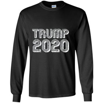 Trump TShirt 2020 Retro Oldschool Cool T-shirt Novelty Tee