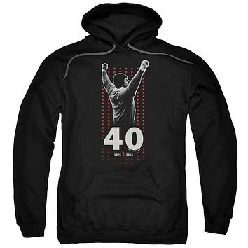 Rocky 40th Anniversary Stars Adult Pullover Hoodie
