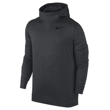 Nike Mens Dri Fit Touch Long Sleeve Hoodie