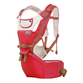 Toddler Backpack class 2017 New 6 in 1 infant toddler ergonomic baby carrier sling backpack bag gear with hip seat wrap newborn Waist Stool Belt chicco AT_50_3
