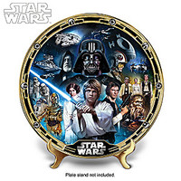 """""""STAR WARS A New Hope"""" Masterpiece Collector Plate"""