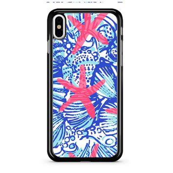 Lilly Pulitzer She She Shells iPhone X Case