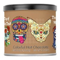Festive Sugar Skulls, Day of the Dead, Halloween Powdered Drink Mix