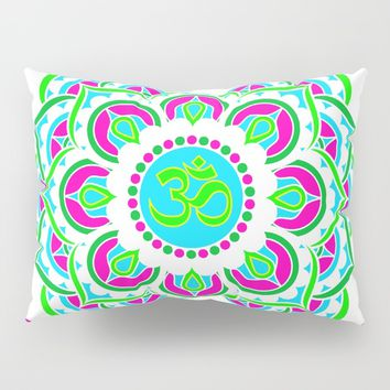 Spring Mandala | Flower Mandhala Pillow Sham by Azima