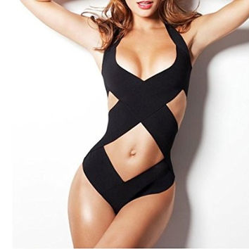 Sexy hollow-out One-piece swimsuit L632468