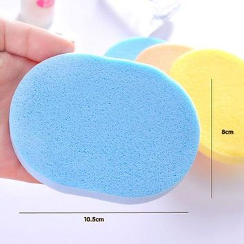DCCKKFQ New Arrival 1 Pc Seaweed Cleansing Flutter  Makeup Puff Seaweed Wash Puff  Beauty Wash Your Face Make Up Sponge Pad
