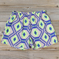 Smoke & Mirrors Shorts in Lime