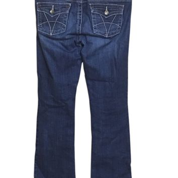 Kut From The Kloth Jeans Natalie High Rise Bootcut Flap Pocket KP881MA1 Womens 6-Preowned