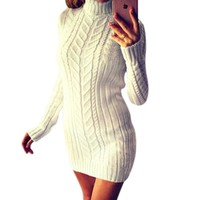 Fashion Womens Sweaters Winter Womens Clothing Women Dresses Pullovers Knitted Harajuku Full Lantern Sleeve Solid 2018 Fall