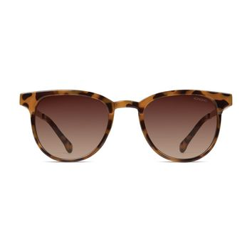 Komono - Francis Metal Series Tortoise Rose Gold Sunglasses / Scratch Resistant Polycarbonate Lenses