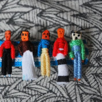 Guatemalan Worry Doll Barrette