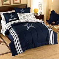 Dallas Cowboys 7-Piece Full Size Bedding Set