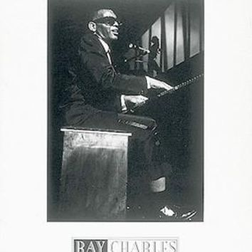 Ray Charles Unknown Art Print