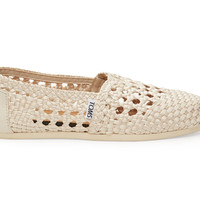 TOMS Whisper Satin Woven Women's Classics Natural