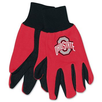 Ohio State Buckeyes Two Tone Gloves - Youth