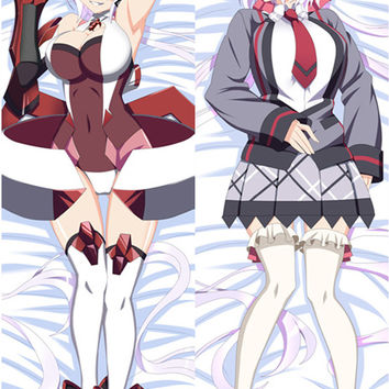 New   Symphogear Chris Yukine  Anime Dakimakura Japanese Pillow Cover MGF 7053