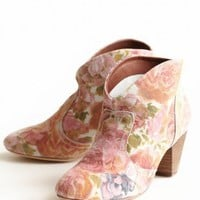 Bolivia Flower Booties By Chelsea Crew | Modern Vintage Shoes