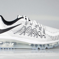 Nike Big Kid's GS Air Max 2015 White Black