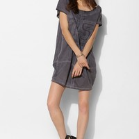 Religion Azure Acid-Wash Tee Dress - Urban Outfitters
