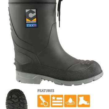 Chinook Badaxe Steel Toe Insulated Rubber Boots 2 pair for $99