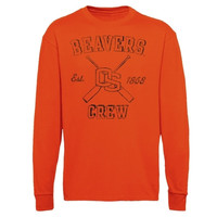 Oregon State Beavers Vintage Arc Long Sleeve T-Shirt - Orange